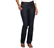 Liz Claiborne New York Petite Jackie Straight Leg Jeans - A236988