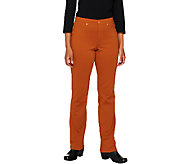 Isaac Mizrahi Live! Icon Grace Regular Ponte Knit Pants - A238588