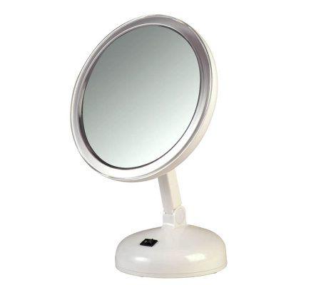 Floxite 10x Daylight Vanity Mirror Page 1 Qvc Com