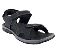 Vionic w/ Orthaheel Mens Mick Triple Adj. Sandals - A254888