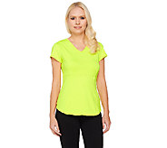 Women With Control Active Tummy Control V-neck Top - A261988
