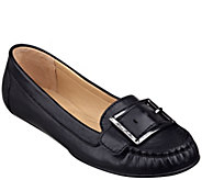 As Is Marc Fisher Leather Moccasins - Channary - A266388