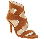 Marc Fisher Suede Cut-out Sandals - Brittany - A268088