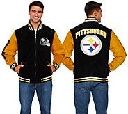 NFL Suede Zipper Front Jacket - A268288