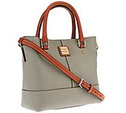 As Is Dooney & Bourke Pebble Leather Mini Chelsea Shopper - A270488