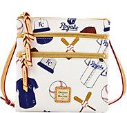 Dooney & Bourke MLB Royals Triple Zip Crossbody - A279988