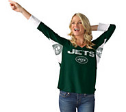 NFL Hands High Womens 3/4 Sleeve Tee by Jimmy Fallon - A284988