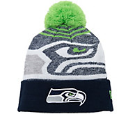 NFL Cuff Knit Hat with Pom by New Era - A285988