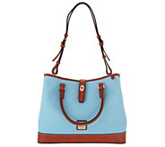 Dooney & Bourke Pebble Leather Perry Satchel - A286288