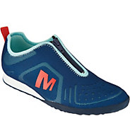 Merrell Mesh Zip-Up Slip-on Sneakers - Civet Zip - A288688
