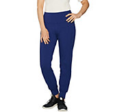 Denim & Co. Active Pull-On Knit Jogger Leggings - A299388