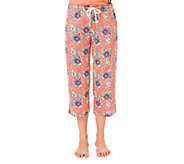Jockey Separates Sunflower Capri Sleepwear Pants - A333088