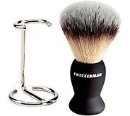 Tweezerman Shaving Brush & Stand - A361088