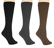 Legacy Set of 3 Flip Side Fleecy Socks - A217089