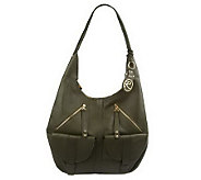 As Is Roccatella Glove Leather Gretchen Hobo Bag - A235089