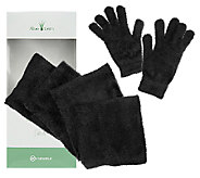 Aloe Vera Infused Gloves & Scarf Gift Box Set - A238289