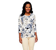 Isaac Mizrahi Live! All Over Floral Printed Cardigan - A254789