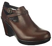 Dansko Leather Wedges with Strap Details - Franka - A258089