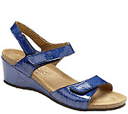 Vionic Orthotic Leather Double-Strap - Natasa - A264889