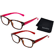 Tashon Progressive Translucent Readers Set of 2 Strength1-2.5 - A268989