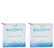 Roloxin Instant Wrinkle Smoothing Mask Duo by Dermarche Labs - A279089