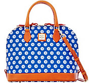 Dooney & Bourke MLB Cubs Zip Zip Satchel - A280089