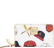 Dooney & Bourke MLB Diamondbacks Zip Around Phone Wristlet - A280889