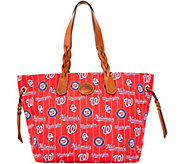 Dooney & Bourke MLB Nylon Nationals Shopper - A281689