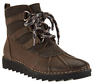 Clarks Somerset Leather Lace Up Boots - Olso Cove - A282289