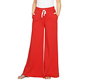 Peace Love World Wide-Leg Knit Pull-On Pants - A290289
