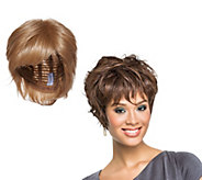 LUXHAIR by Sherri Shepherd Wavy Pixie Cut - A291189