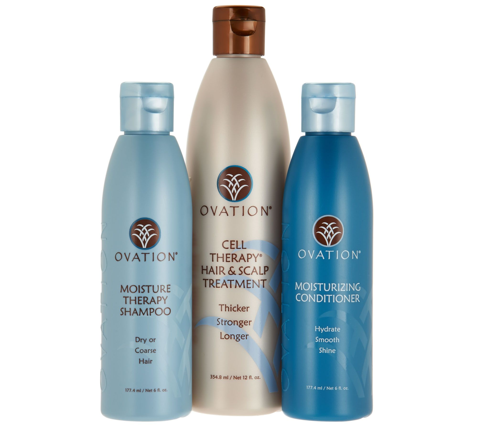 Ovation Cell Therapy 12 Oz With Shampoo Conditioner 6oz Page 1 Qvc