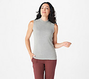 Joan Rivers Wardrobe Builders Mock Turtleneck Tank - A295889
