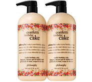 philosophy super-size summer fun shower gel duo - A304589