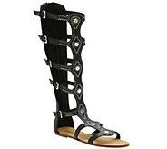Kensie Flat Gladiator Sandals - Trina - A339989