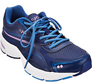 As Is Ryka Mesh & Leather Lace-up Walking Sneaker Infinite 2 - A341689