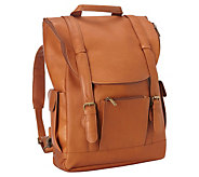 Le Donne Leather Classic Laptop Backpack - A363189