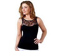 Spanx Hide and Sleek Lace Bateau Camisole - A214290