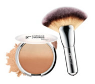 IT Cosmetics CC Anti-Aging Ombre Bronzer with Fan Brush