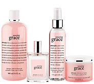 philosophy 4-piece grace body care collection - A259690