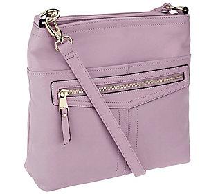 Tignanello Glove Leather Pretty Pockets Large Crossbody