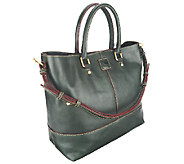 As Is Dooney & Bourke Florentine Leather Chelsea Shopper - A263990
