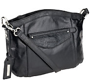 As Is Tignanello Leather Convertible Crossbody - A267090