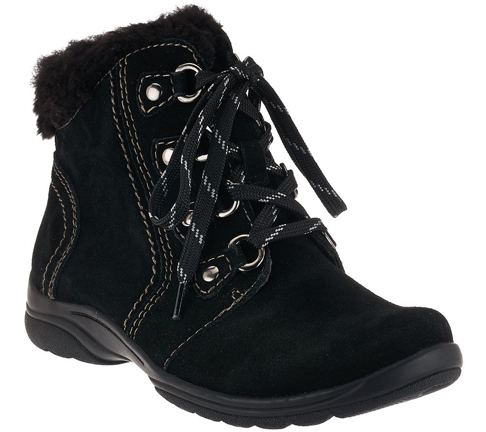 Earth Origins Suede Water Repellent Ankle Boots - Crowley - Page 1 ...