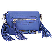 As Is Aimee Kestenberg Krista Leather and Suede Crossbody - A270690
