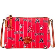 Dooney & Bourke MLB Nylon Diamondbacks Crossbody Pouchette - A281590