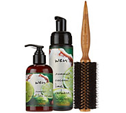 WEN by Chaz Dean Summer Styling Creme & Mousse with Brush - A281990