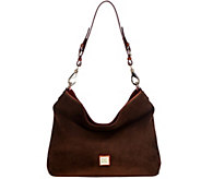 Dooney & Bourke Suede Shoulder Bag- Courtney - A282390