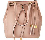As Is G.I.L.I Smooth Leather Large Tote Bag - A282590