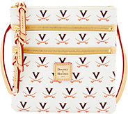 Dooney & Bourke NCAA University of Virginia Zip Crossbody - A283490